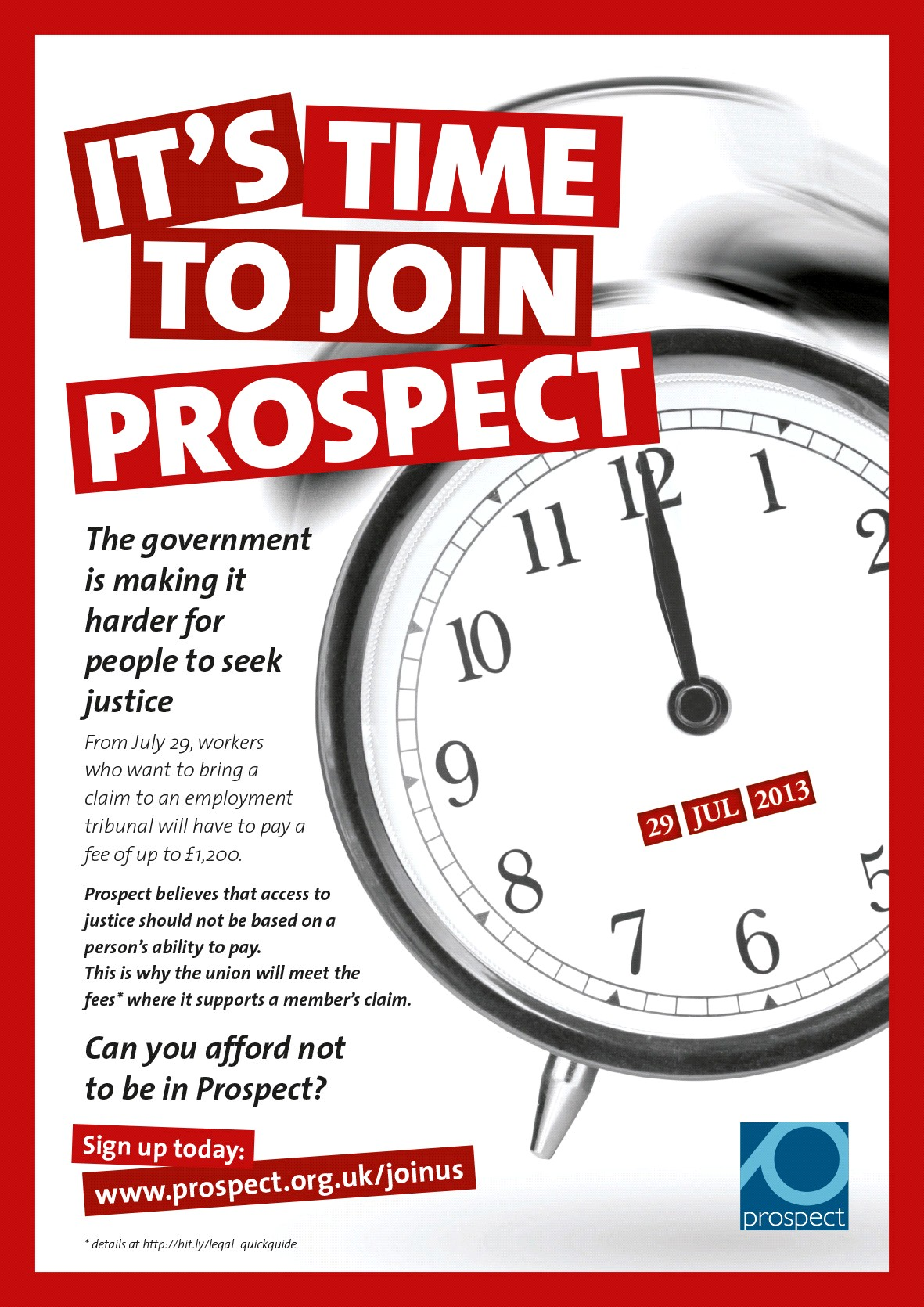 Poster: It's time to join Prospect