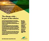Prospect climate crisis flyer