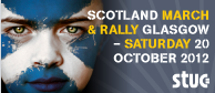 Scotland march and rally, Glasgow, Sat 20 Oct 2012