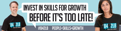Banner: invest in skills for growth before it's too late