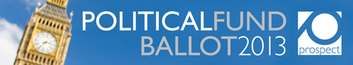 Political fund ballot 2013