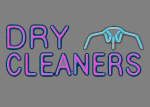 Dry cleaner signage