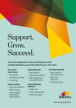 Bectu 2019 – Support, Grow, Succeed flyer