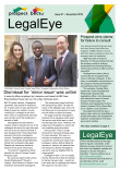 LegalEye, issue 21, November 2019