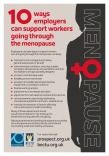Ten ways employers can support workers going through the menopause