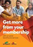 Bectu member benefits leaflets