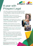 Union week - a year with Prospect Legal