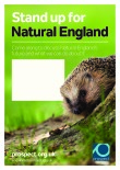 Stand up for Natural England poster