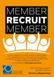 Member recruit member, A4 poster
