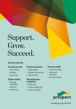 Prospect 2019  – Support, Grow, Succeed flyer