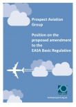 Prospect aviation group position on the proposed amendment to the EASA basic regulation