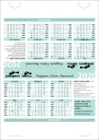 Prospect and Bectu desk calendar 2020