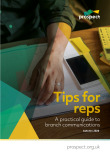 Tips for reps – A practical guide to branch communications