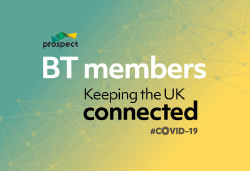 BT members keeoing the UK connected