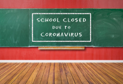 School's closed coronavirus