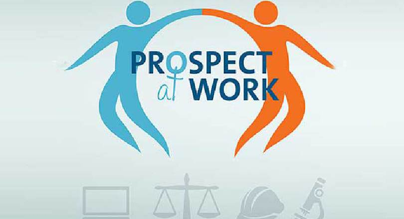 Prospect at Work campaign logo