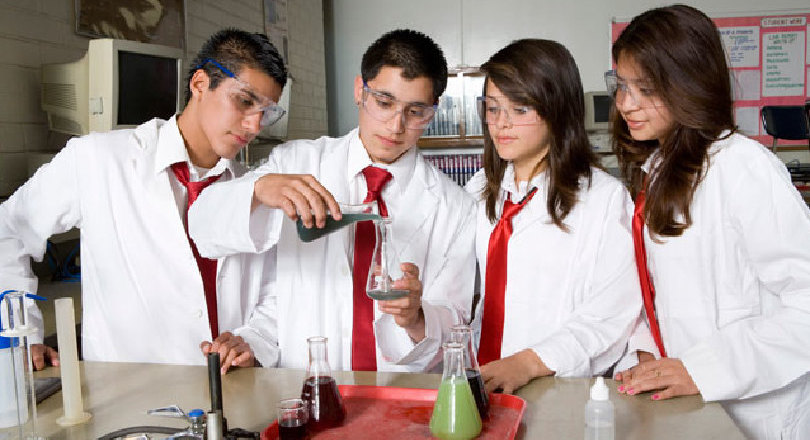 Science school pupils, Thinkstock