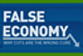 False economy logo