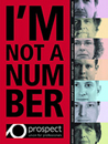 I'm not a number: front cover of Profile